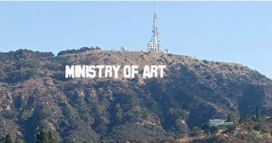 Hollywood-sign Ministry of Art