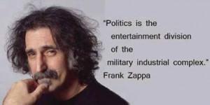 politics acc to zappa